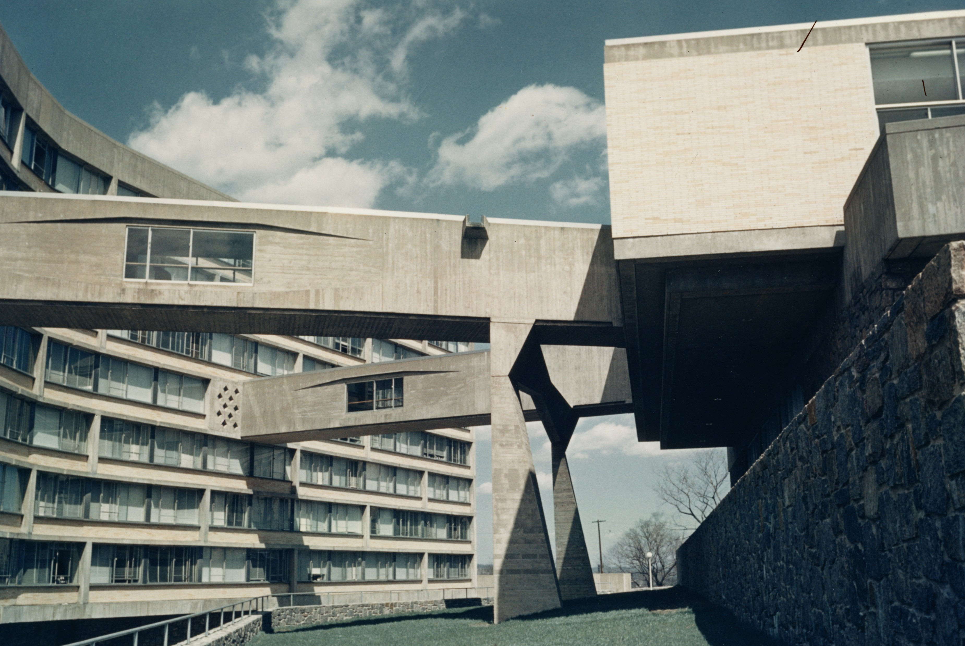 Marcel breuer the college on a hill - Marcel breuer architecture ...